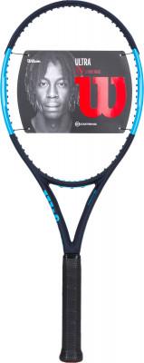 Ракетка для большого тенниса Wilson Ultra 100 CVМощная ракетка из серии wilson ultra для тех, кто играет на экспертном уровне. Ракетка подойдет для теннисистов с защитным стилем.<br>Материал ракетки: Графит, Карбон; Вес (без струны), грамм: 300; Размер головы: 645 кв.см; Баланс: 320 мм; Толщина обода: 23-26,5-22 мм; Длина: 27; Струнная формула: 16х19; Стиль игры: Защитный стиль; Технологии: Carbon Fiber Graphite, Countervail, Crush Zone, Parallel Drilling, Power RIB; Производитель: Wilson; Артикул производителя: WRT73731U; Срок гарантии: 2 года; Страна производства: Китай; Вид спорта: Теннис; Уровень подготовки: Профессионал; Наличие струны: Опционально; Наличие чехла: Опционально; Размер RU: 3;