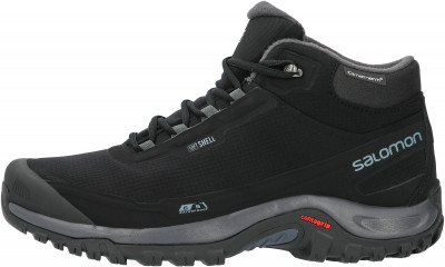 L41110400-. 12.5 Ботинки мужские утепленные SHELTER CS WP черный/серый р. 12.5, размер 45 Salomon