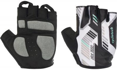 Перчатки велосипедные Cyclotech PilotВелосипедные перчатки cyclotech. Особенности модели гасят неприятные вибрации комфортная посадка хорошая вентиляция петли между пальцами позволяют легко снять перчатки.<br>Материал верха: 50 % искусственная кожа, 40 % эластан, 10 % нейлон; Тип фиксации: Резинка; Производитель: Cyclotech; Артикул производителя: PILOT-O-M; Срок гарантии: 6 месяцев; Страна производства: Пакистан; Размер RU: 7;
