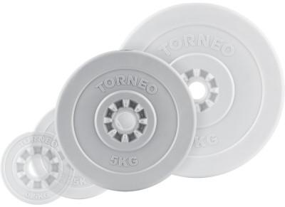 Блин Torneo в пластиковом корпусе 5 кгКомпозитные диски. Могут быть использованы как с грифами из абс-пластика, так и со стальными грифами. Посадочный диаметр: 30 мм<br>Посадочный диаметр: 31 мм; Внешний диаметр: 245 мм; Толщина: 40 мм; Материал диска: Пластик; Покрытие: Пластик; Вес, кг: 5; Вид спорта: Силовые тренировки; Производитель: Torneo; Артикул производителя: 1008-50; Срок гарантии: 5 лет; Страна производства: Китай; Размер RU: Без размера;