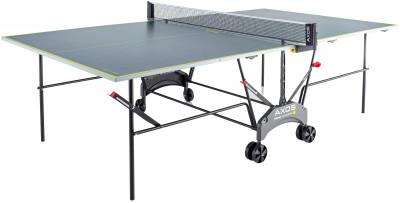 Теннисный стол Kettler Axos Indoor 1Теннисный стол для закрытых помещений. Удобство пользования съемная сетка в комплекте. Позиция playback можно играть одному на столе.<br>Размер в рабочем состоянии (дл. х шир. х выс), см: 274 х 152,5 х 76; Размер в сложенном виде (дл. х шир. х выс), см: 49 х 153 х 171; Вес, кг: 65; Складная конструкция: Есть; Блокиратор в механизме складывания: Есть; Труба: Круглая; Диаметр трубы: 25 мм; Материал каркаса: Сталь; Толщина игровой плиты, мм: 16; Позиция Playback: Есть; Антибликовое покрытие: Есть; Игровая поверхность: Плита ДСП; Транспортировочные ролики: Есть; Диаметр колес: 14 см; Материал колес: Пластик; Сетка в комплекте: Есть; Зажимной механизм: Есть; Вид спорта: Настольный теннис; Производитель: Heinz-Kettler GmbH &amp; CO.KG; Артикул производителя: 7046-900; Срок гарантии: 3 года; Страна производства: Германия; Размер RU: Без размера;