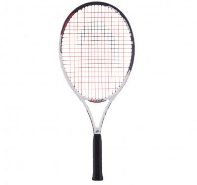 Ракетка для большого тенниса детская Head Speed 25Ракетка начального уровня подходит для детей в возрасте 8-10 лет и дарит оптимальное сочетание скорости и контроля.<br>Вес (без струны), грамм: 240; Размер головы: 645 кв.см; Длина: 25; Материалы: Графитовый композит; Наличие струны: В комплекте; Наличие чехла: В комплекте; Вид спорта: Большой теннис; Технологии: Damp+, Innegra; Производитель: Head; Артикул производителя: 233517; Срок гарантии: 1 год; Страна производства: Китай; Размер RU: Без размера;