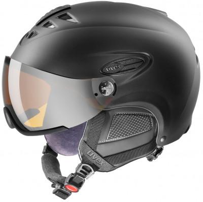 Шлем Uvex 300 VisorШлем с визором от uvex для катания на сноуборде и горных лыжах.<br>Пол: Мужской; Возраст: Взрослые; Вид спорта: Горные лыжи; Конструкция: Hard shell; Вентиляция: Регулируемая; Сертификация: EN 1077 B; Регулировка размера: Есть; Тип регулировки размера: Поворотное кольцо; Материал внешней раковины: Пластик; Материал внутренней раковины: Пенополистирол; Материал подкладки: Полиэстер; Технологии: IAS; Производитель: Uvex; Артикул производителя: 6162.2207; Срок гарантии: 2 года; Страна производства: Германия; Размер RU: 60-61;