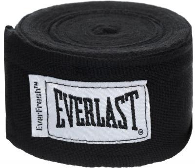 Бинты Everlast 3,5 м, 2 шт.Бинты everlast предназначены для защиты суставов во время работы в боксерских перчатках. Использование бинтов помогает избежать растяжений и вывихов.<br>Материалы: 55 % нейлон, 45 % полиэстер; Тип фиксации: Липучка; Производитель: Everlast; Артикул производителя: 4464; Срок гарантии: 15 дней; Размер RU: Без размера;