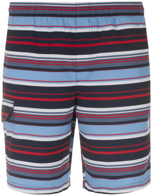 Шорты пляжные мужские FilaЯркие пляжные шорты для мужчин станут отличным выбором для летнего отдыха. Комфорт мягкая ткань приятна к телу.<br>Пол: Мужской; Возраст: Взрослые; Вид спорта: Пляж; Назначение: Пляжный отдых; Длина плавок: 46 см; Материал верха: 100 % полиэстер; Материал подкладки: 100 % полиэстер; Производитель: Fila; Артикул производителя: S17AFLMH3X; Страна производства: Китай; Размер RU: 56;