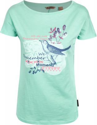 Футболка женская Outventure, размер 42Футболки<br>Женская футболка от outventure отлично подойдет для прогулок и путешествий. Натуральные материалы модель выполнена из натурального воздухопроницаемого хлопка.