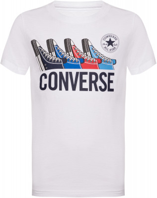Футболка для мальчиков Converse Multi Sneaker Tee, размер 152