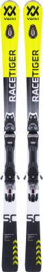 Горные лыжи Volkl Racetiger SC + VMotion 11 GW