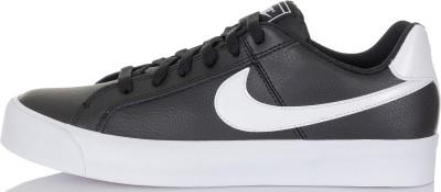 Кеды женские Nike Court Royale AC, размер 36,5Кеды <br>Женские кеды nike court royale ac в классическом спортивном дизайне, который не теряет своей актуальности. Натуральные материалы прочный верх выполнен из натуральной кожи.