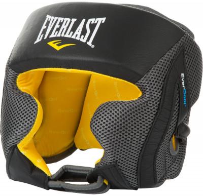 Шлем Everlast EverCoolОтличный тренировочный шлем для залов. Сконструирован специально для серьезных тренировок.<br>Материал верха: 40 % синтетическая кожа, 60 % синтетическая сетка; Материал подкладки: Синтетический материал; Материал наполнителя: 40 % пена, 40 % полиуретан, 20 % полиэтилен; Вид спорта: Бокс, ММА; Технологии: EverDri; Производитель: Everlast; Артикул производителя: 550401; Срок гарантии: 30 дней; Размер RU: L-XL;