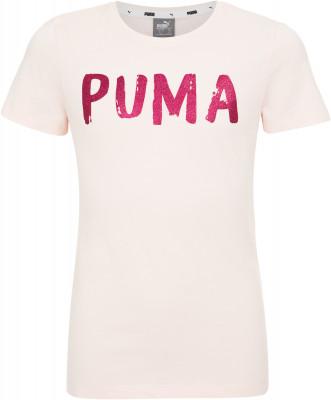 Футболка для девочек Puma Alpha, размер 140