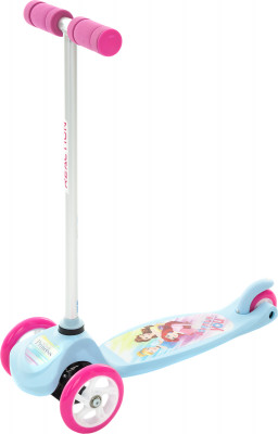 REACTION 3W Disney GirlСамокаты<br>Детский трехколесный самокат reaction princess. Безопасность устойчивая трехколесная конструкция самоката в сочетании с широкой платформой служит для безопасного катания.