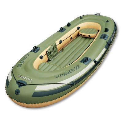 Лодка надувная BestwayНадувная лодка станет отличным вариантом для отдыха на воде. Внешние параметры - 3, 48 м х 1, 41 м, при весе 15, 4 кг. Количество мест лодка рассчитана на 3 человек.<br>Грузоподъемность: 260 кг; Размер в рабочем состоянии (дл. х шир. х выс), см: 348 x 141 x 42; Размер упаковки: 100 х 50 х 20 см; Высота борта: 40 см; Пассажировместимость: 3; Вес, кг: 15,4; Вид спорта: Водный спорт; Производитель: Bestway; Артикул производителя: BW65001; Срок гарантии: 1 год; Страна производства: Китай; Размер RU: Без размера;