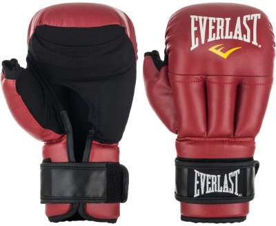 Перчатки для рукопашного боя Everlast, размер 10 ozПерчатки<br>Официальные перчатки для рукопашного боя. Защита кисти от травм мягкая и в то же время прочная набивка обеспечивает сильные удары и надежную защиту.