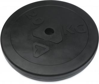 Блин стальной обрезиненный Torneo, 20 кг