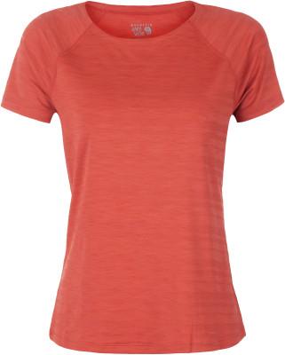 Футболка женская Mountain Hardwear Mighty StripeПриталенная женская футболка для походов и активного отдыха. Отведение влаги технология wick. Q обеспечивает быстрое отведение влаги.<br>Пол: Женский; Возраст: Взрослые; Вид спорта: Походы; Технологии: Wick.Q; Производитель: Mountain Hardwear; Артикул производителя: 1708341863XS; Страна производства: Китай; Материалы: 91 % полиэстер, 9 % эластан; Размер RU: 42;