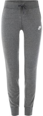 Брюки женские Nike SportswearЖенские брюки в спортивном стиле nike sportswear. Надежная фиксация пояс с утягивающим шнурком обеспечит надежную фиксацию модели на талии.<br>Пол: Женский; Возраст: Взрослые; Вид спорта: Спортивный стиль; Силуэт брюк: Зауженный; Материал верха: 52 % хлопок, 28 % вискоза, 20 % полиэстер; Производитель: Nike; Артикул производителя: 807364-071; Страна производства: Пакистан; Размер RU: 40-42;