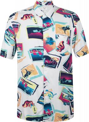 Рубашка с коротким рукавом мужская Quiksilver Vacancy, размер 46-48