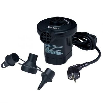 Насос электрический Intex 220-240VКомпактный электрический насос - незаменимая вещь на отдыхе и в домашнем обиходе.<br>Состав: ПВХ /металл; Вид спорта: Кемпинг; Производитель: Intex; Артикул производителя: ВД66620; Срок гарантии: 1 год; Страна производства: Китай; Размер RU: Без размера;