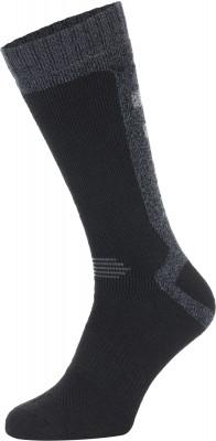 Носки мужские Columbia Explorer, 1 параВысокие носки отлично подойдут для активного времяпрепровождения на природе в холодное время года.<br>Пол: Мужской; Возраст: Взрослые; Вид спорта: Путешествие; Плоские швы: Да; Светоотражающие элементы: Нет; Дополнительная вентиляция: Нет; Компрессионный эффект: Нет; Производитель: Columbia Delta; Артикул производителя: RCS700M_1BLKS; Страна производства: Китай; Материалы: 78 % полиэстер, 19 % хлопок, 2 % эластан, 1 % вискоза; Размер RU: 44-46;