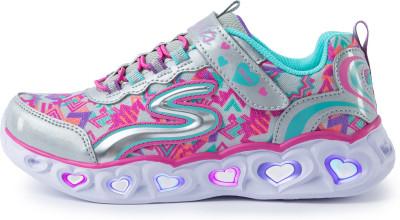 Кроссовки для девочек Skechers Heart Lights Love Lights, размер 35