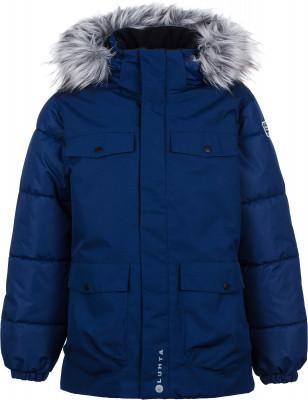 Фото - Куртку утепленная для мальчиков Luhta Lahis, размер 164 синего цвета