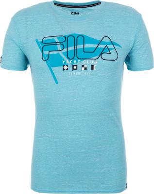 Футболка мужская Fila, размер 54Футболки<br>Удобная и практичная футболка в спортивном стиле от fila. Устойчивость к износу смесовая ткань приятна на ощупь и устойчива к износу.