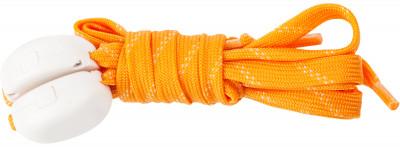 Шнурки светодиодные детские I-JumpШнурки со встроенными светодиодами разработаны специально для увеличения безопасности при занятии спортом в условиях плохой видимости.<br>Пол: Мужской; Возраст: Дети; Вид спорта: Аксессуары; Материалы: 35 % нейлон, 20 % пластик, 18 % полиэтилентерефталат, 10 % провод МГТФ, 10 % светодиоды, 7 % картон; Длина: 90 см; Производитель: I-Jump; Артикул производителя: ND-004-090-OR; Страна производства: Китай; Размер RU: 90;