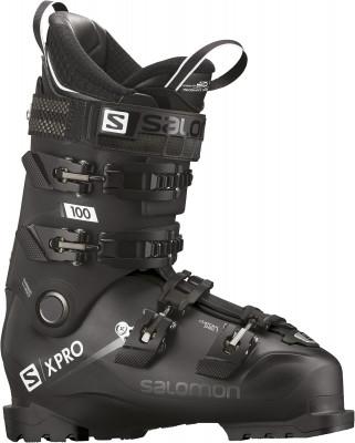 Ботинки горнолыжные Salomon X PRO 100, размер 47Ботинки<br>Ботинки для продвинутых горнолыжников salomon x pro 100 обеспечивают точную посадку и отличную передачу энергии.