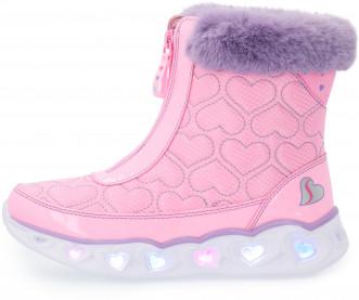 Сапоги утепленные для девочек Skechers Heart Lights