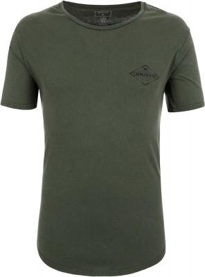 Футболка мужская Quiksilver, размер 52-54Surf Style <br>Лаконичная футболка, украшенная логотипом quiksilver, станет отличным выбором для активного отдыха на пляже.