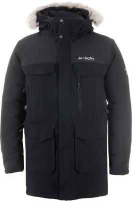 Куртка пуховая мужская Columbia Titan Pass 780 TurboDownПуховая куртка columbia titan pass 780 turbodown - удачный вариант для путешествий в холодную погоду.<br>Пол: Мужской; Возраст: Взрослые; Вид спорта: Путешествие; Коэффициент плотности набивки пуха: 780; Наличие мембраны: Да; Возможность упаковки в карман: Нет; Регулируемые манжеты: Да; Длина по спинке: 89 см; Покрой: Прямой; Светоотражающие элементы: Нет; Дополнительная вентиляция: Нет; Проклеенные швы: Нет; Длина куртки: Длинная; Наличие карманов: Да; Капюшон: Отстегивается; Мех: Искусственный; Количество карманов: 5; Водонепроницаемые молнии: Нет; Застежка: Молния; Технологии: Omni-Heat, Omni-Tech, TurboDown; Производитель: Columbia; Артикул производителя: 1737301010L; Страна производства: Китай; Материал верха: 87 % нейлон, 13 % эластан; Материал подкладки: 100 % полиэстер; Материал утеплителя: Комбинация из 90 % пух, 10 % перо и 100 % полиэстер; Размер RU: 48-50;