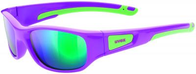 Солнцезащитные очки детские UvexОчки для детей и подростков от uvex обеспечивают прекрасный обзор и стопроцентную защиту от всех видов ультрафиолетового излучения благодаря фильтру 100% uva- uvb- uvc-prote<br>Цвет линз: Зеленый зеркальный; Назначение: Активный отдых; Пол: Мужской; Возраст: Дети; Вид спорта: Активный отдых; Ультрафиолетовый фильтр: Да; Зеркальное напыление: Да; Материал линз: Поликарбонат; Оправа: Пластик; Технологии: 100% UVA- UVB- UVC-PROTECTION, LITEMIRROR; Производитель: Uvex; Артикул производителя: S5338653716; Срок гарантии: 1 месяц; Страна производства: Китай; Размер RU: Без размера;