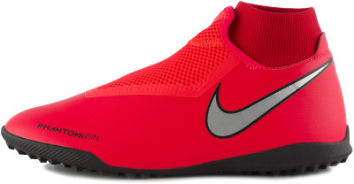 Бутсы мужские Nike Phantom Vsn Academy DF TF, размер 41,5Бутсы<br>Футбольные бутсы для игры на газоне nike phantom vision academy dynamic fit с верхом из текстурированного материала обеспечивают точное касание при любых ударах.