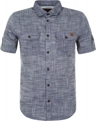 Рубашка мужская Outventure, размер 52Рубашки<br>Мужская рубашка от outventure пригодится в поездках и путешествиях. Натуральные материалы модель выполнена из натурального воздухопроницаемого хлопка.