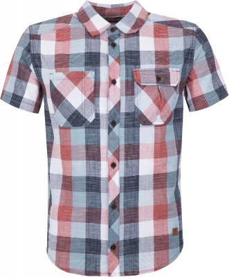 Рубашка мужская Outventure, размер 48Рубашки<br>Рубашка с коротким рукавом от outventure - отличный выбор для поездок и путешествий. Натуральные материалы ткань из 100% хлопка приятна на ощупь.