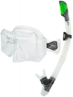 Комплект для плавания JossНабор для сноркелинга, состоящий из маски и трубки. Трехлинзовая маска надежно фиксируется и обеспечивает хороший обзор.<br>Состав: Силикон, стекло, пластик; Гофра: Есть; Количество линз: 3; Волноотбойник: Есть; Вид спорта: Подводное плавание; Производитель: Joss; Артикул производителя: M312S-03; Срок гарантии: 2 года; Страна производства: Китай; Размер RU: Без размера;