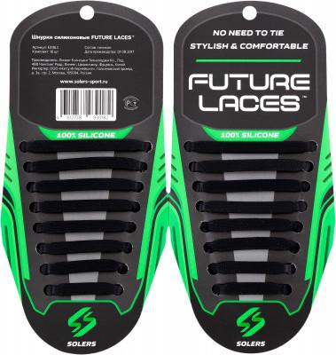 Шнурки силиконовые SolersЭластичные силиконовые шнурки станут удобной и функциональной заменой традиционным шнуркам. Они позволяют быстро обуться и подходят к любому размеру обуви.<br>Пол: Мужской; Возраст: Взрослые; Производитель: Solers; Артикул производителя: E518LS; Страна производства: Китай; Материалы: 100 % силикон; Размер RU: Без размера;