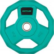 Блин стальной обрезиненный Kettler 5 кг