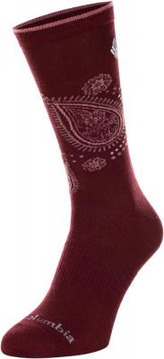 Носки женские Columbia Lightweight Paisley Flower Wool Crew, 1 пара, размер 39-42