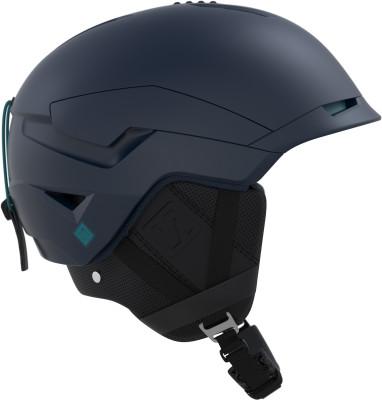 Шлем Salomon QuestШлем salomon quest обеспечивает максимальную защиту и комфорт. Модель подойдет лыжникам и сноубордистам, которые катаются при любой погоде и по любому снегу.<br>Пол: Мужской; Возраст: Взрослые; Вид спорта: Горные лыжи; Конструкция: Hybrid; Вентиляция: Принудительная; Сертификация: CE-EN1077 / ASTM F-2040; Регулировка размера: Есть; Тип регулировки размера: Custom Air; Материал внешней раковины: Пластик; Материал внутренней раковины: Пенополистирол; Материал подкладки: Полиэстер; Технологии: Advanced Skin ActiveDry, Custom Air, EPS 4D, Twinshell Concept; Производитель: Salomon; Артикул производителя: L39920000; Срок гарантии: 2 года; Страна производства: Китай; Размер RU: 56-59;