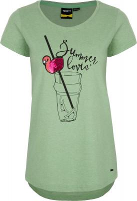 Футболка женская Termit, размер 48Skate Style<br>Удобная футболка termit - идеальный выбор для жарких летних дней. Свобода движений прямой крой позволяет двигаться свободно.