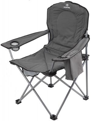 Кресло OutventureКомфортабельное кресло для тех, кто привык отдыхать со вкусом. Комфорт увеличенные размеры кресла позволяют с удобством расположиться крупным людям.<br>Максимальная нагрузка, кг: 150 кг; Размер в рабочем состоянии (дл. х шир. х выс), см: 61 х 49 х 105; Размер в сложенном виде (дл. х шир. х выс), см: 65 х 35 х 31; Материал каркаса: Сталь; Материал сидушки: Полиэстер; Вес, кг: 4,8; Вид спорта: Кемпинг; Производитель: Outventure; Артикул производителя: IE40392; Срок гарантии: 2 года; Страна производства: Китай; Размер RU: Без размера;