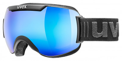 Маска горнолыжная Uvex Downhill 2000Маски<br>Горнолыжная маска от uvex для катания в солнечную погоду. Максимальный обзор благодаря большой линзе и конструкции без оправы, у маски превосходный обзор.