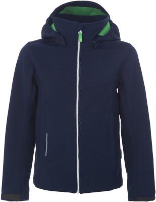 Куртка для мальчиков Reima Grus, размер 134Куртки <br>Теплая детская куртка софтшелл от reima - отличный выбор для путешествий в холодное время года водонепроницаемость водонепроницаемая мембрана с проклеенными швами эффективно