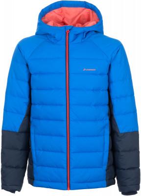 Куртка утепленная для мальчиков DemixКуртка в спортивном стиле для мальчиков от demix. Сохранение тепла в модели использован синтетический утеплитель весом 160 г м2.<br>Пол: Мужской; Возраст: Дети; Вид спорта: Спортивный стиль; Вес утеплителя на м2: 160 г/м2; Наличие чехла: Нет; Возможность упаковки в карман: Нет; Защита от ветра: Нет; Покрой: Прямой; Светоотражающие элементы: Нет; Дополнительная вентиляция: Нет; Проклеенные швы: Нет; Длина куртки: Средняя; Наличие карманов: Да; Капюшон: Не отстегивается; Количество карманов: 2; Артикулируемые локти: Нет; Застежка: Молния; Производитель: Demix; Артикул производителя: EJAB00V215; Страна производства: Китай; Материал верха: 100 % полиэстер; Материал подкладки: 100 % полиэстер; Материал утеплителя: 100 % полиэстер; Размер RU: 158;