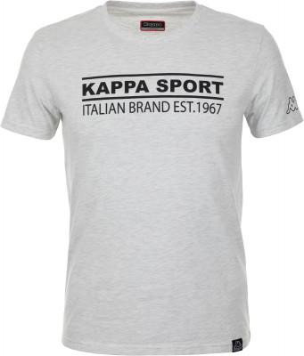 Футболка мужская Kappa, размер 52Футболки<br>Футболка в классическим спортивном стиле от kappa - отличная основа твоего образа. Натуральные материалы модель выполнена из мягкого воздухопроницаемого хлопка.