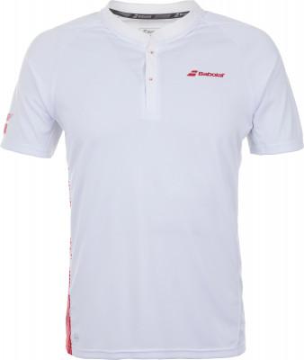 Поло мужское Babolat Perf, размер 44Поло<br>Удобное поло из влагоотводящего материала от babolat - отличный выбор для теннисных матчей и тренировок.
