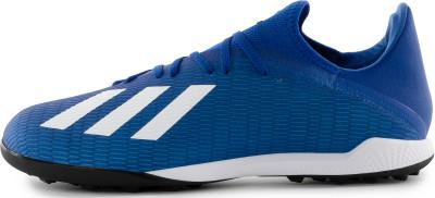 Бутсы мужские Adidas X 19.3 Tf, размер 40,5