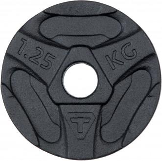 Блин Torneo без ручек стальной 1,25 кг, 2020-21